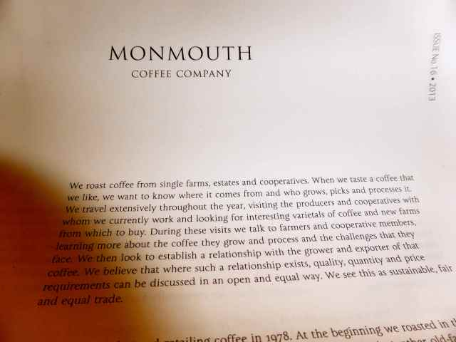 Monmouth policy statement