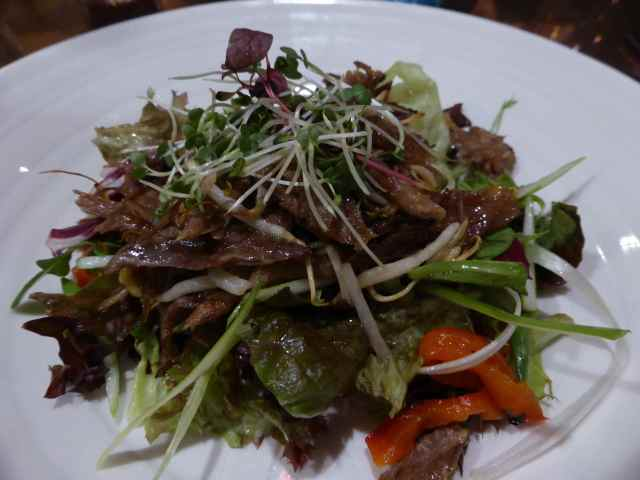TGH duck salad