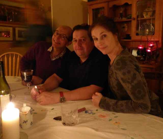 colin, David and Sarah