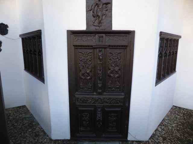 door to mushroom house