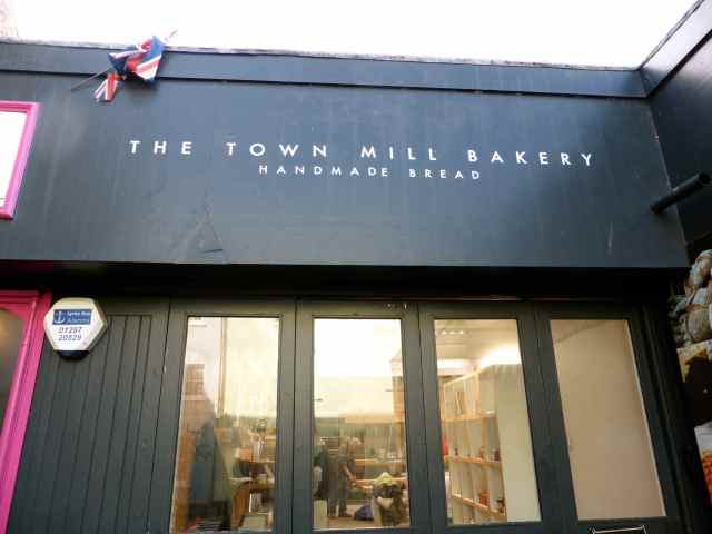 entrance to Town Mill Bakery