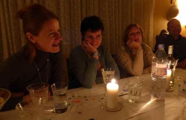 girls at dinner 1-2-14
