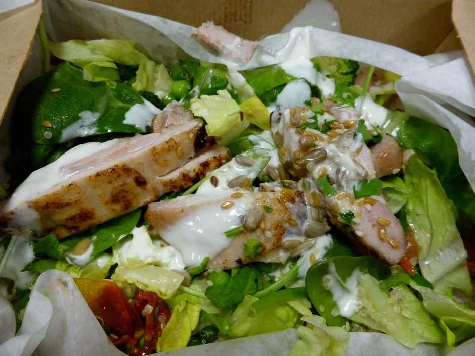 Leon chicken superfood salad