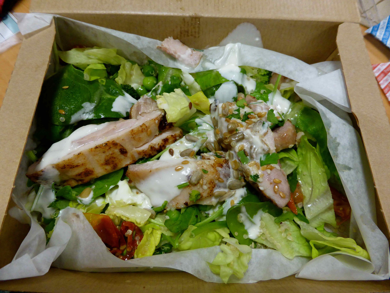 leon superfood chicken salad recipe