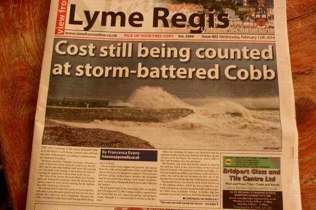 Lyme Regis paper