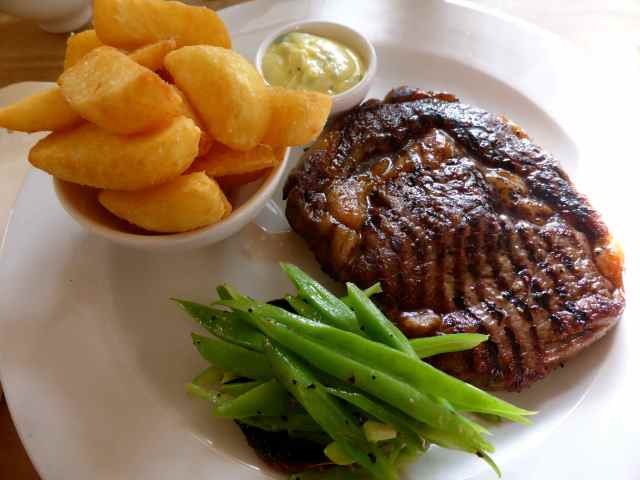 Milkhouse Steak and Chips