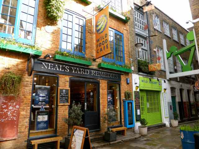 Neal's Yard and Wild Food Cafe