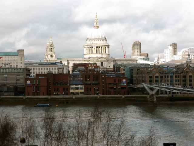 St Paul's from Tate Modern