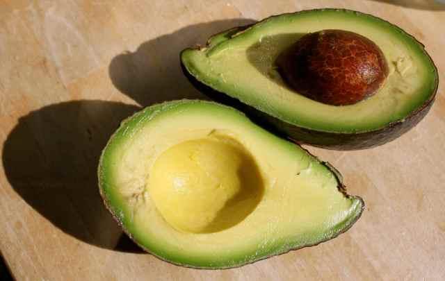 A perfect avocado