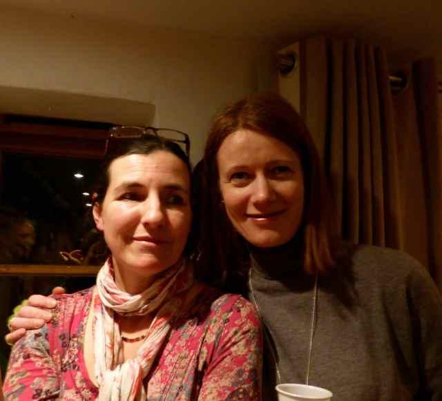 Annette and Rebecca