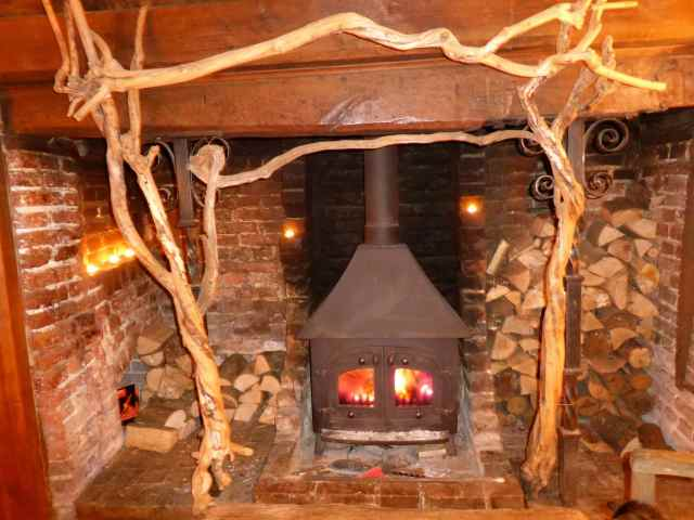 Charming fire place