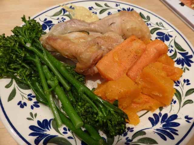 Chicken dinner 2-3-14