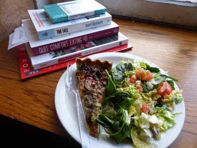 Foyles lunch and books