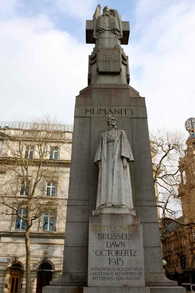 Humanity statue
