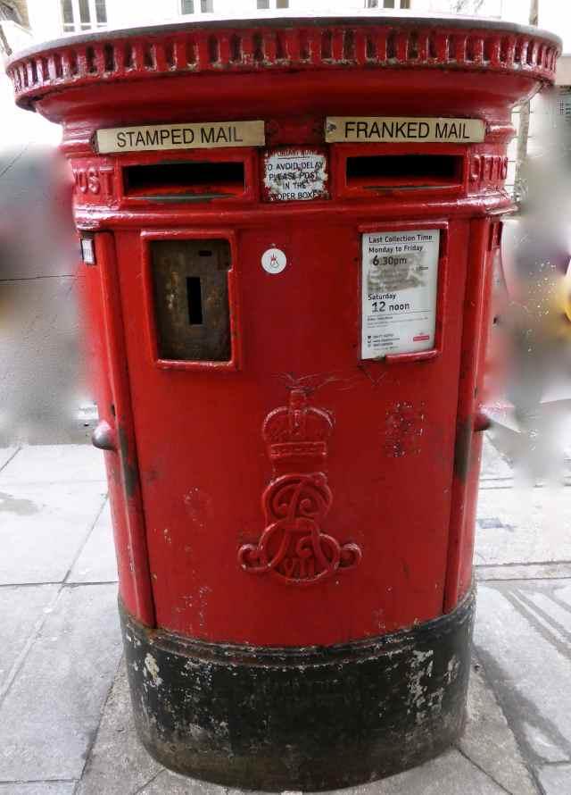 London letter box