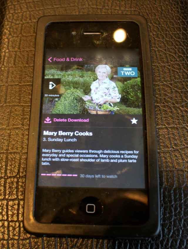 Mary Berry on iPlayer