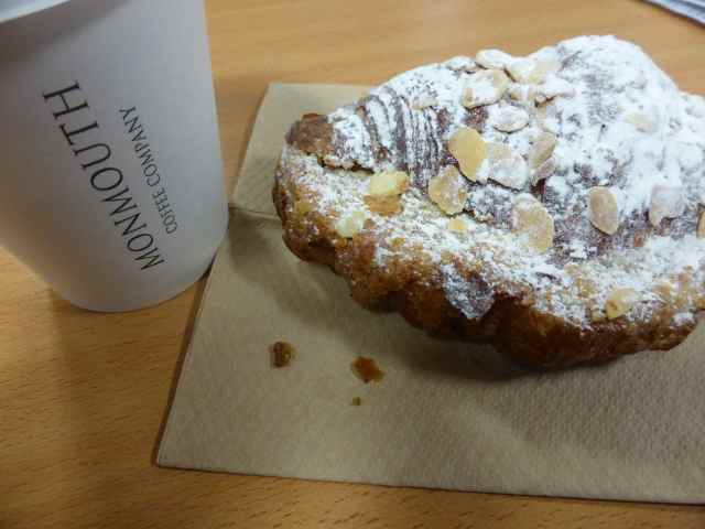Momnouth almond croissant