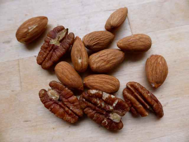 pecan and almond