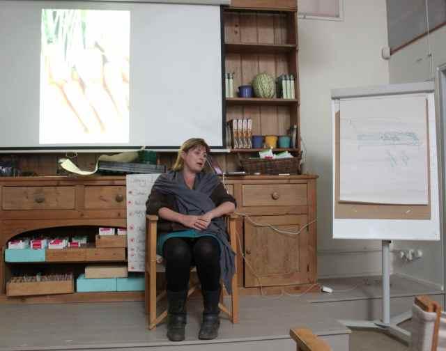 Sarah Raven teaching