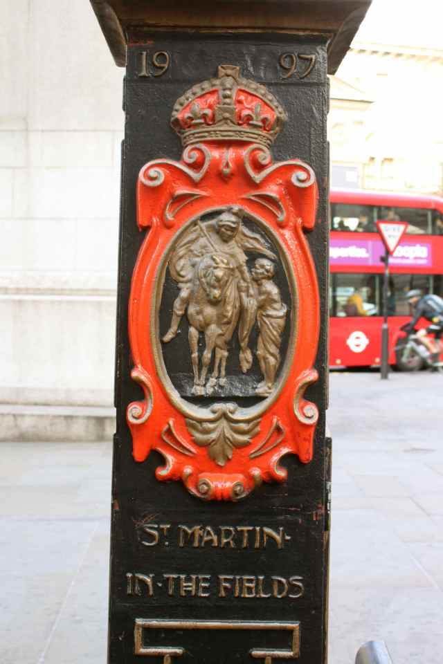 St Martin In The Fields Lampost
