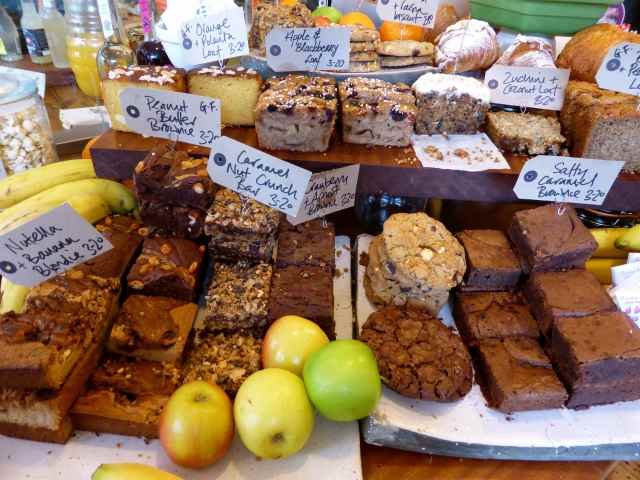 Sweet goodies at Timber Yard