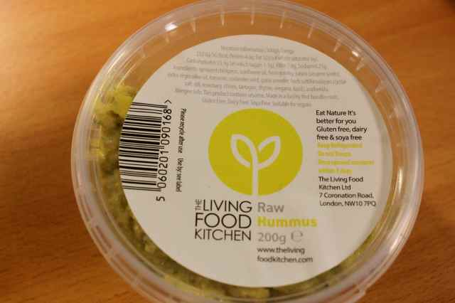 The Living Food Kitchen Raw Hummus