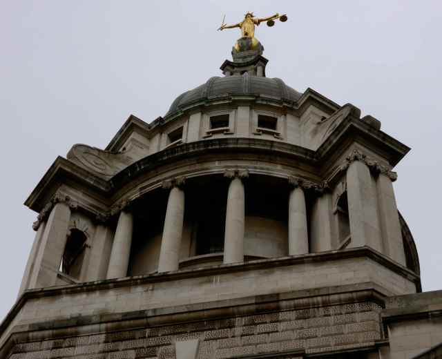 Top of Old Bailey