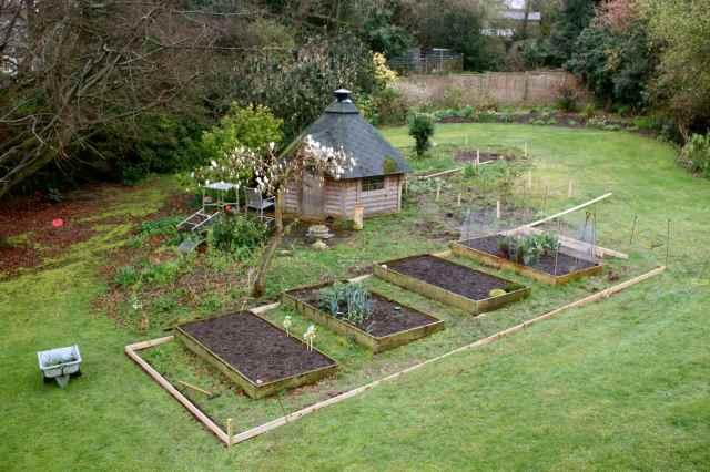veg garden makeover 2