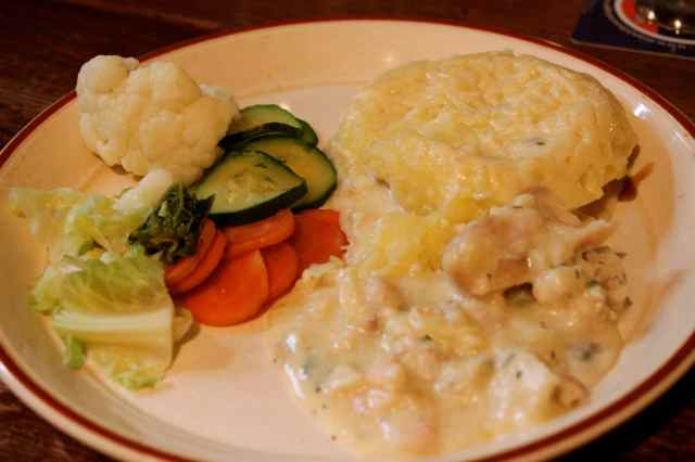 Bear Inn fish pie