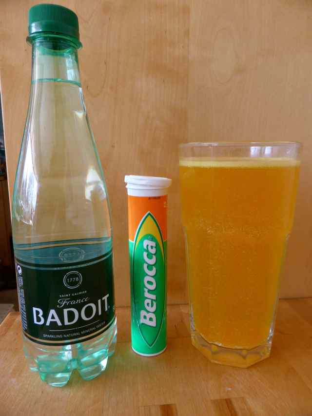 Berocca and Badoit