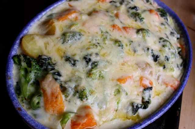 Cheesey veg 3