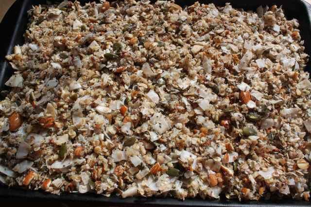 coco nutty granola