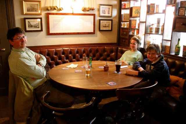 cosy corner in Bear Inn