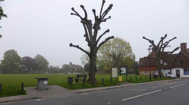 Horsmonden village green