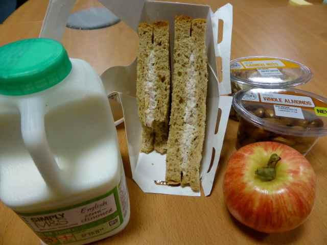 M&S breakfast