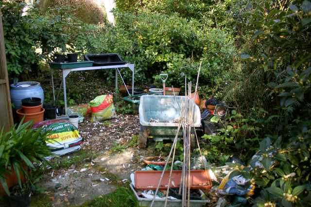next to greenhouse 2