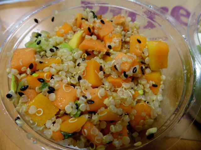 quinoa and butternut salad