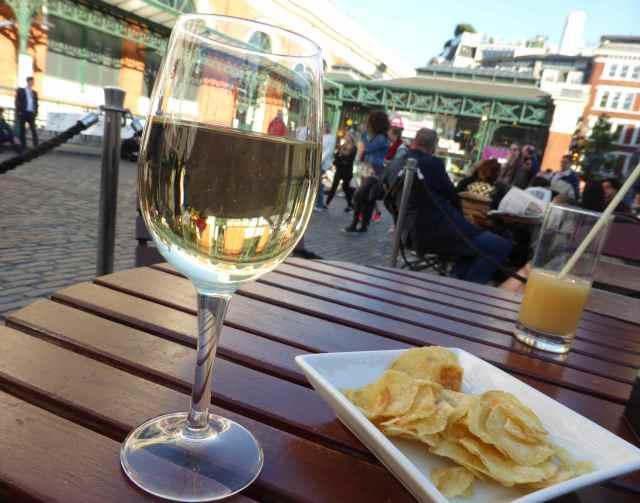 wine in Covent Garden