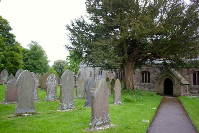 Alstonefield churchyard