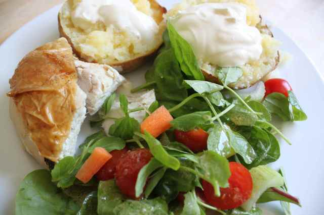 chicken salad lunch 18-5-14