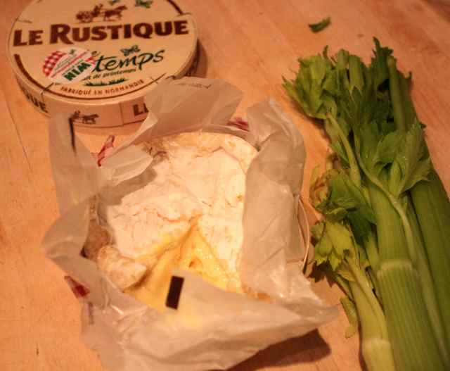 Le Rustique and celery