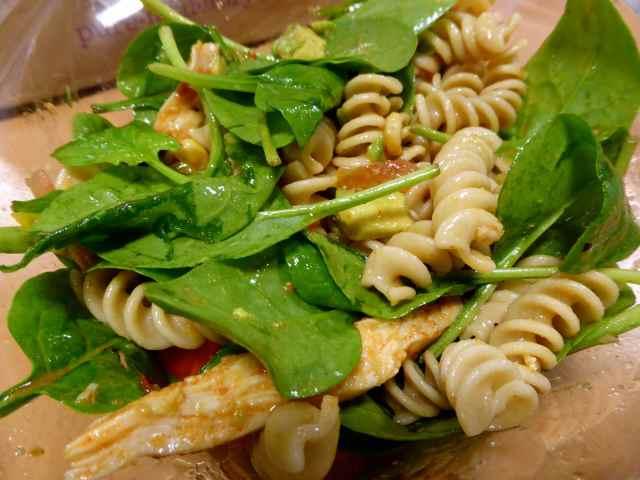 Pure Jerk salad 1