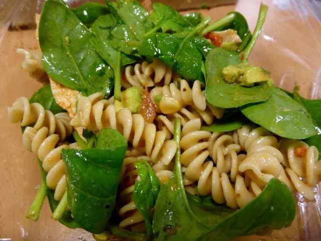 Pure Jerk salad