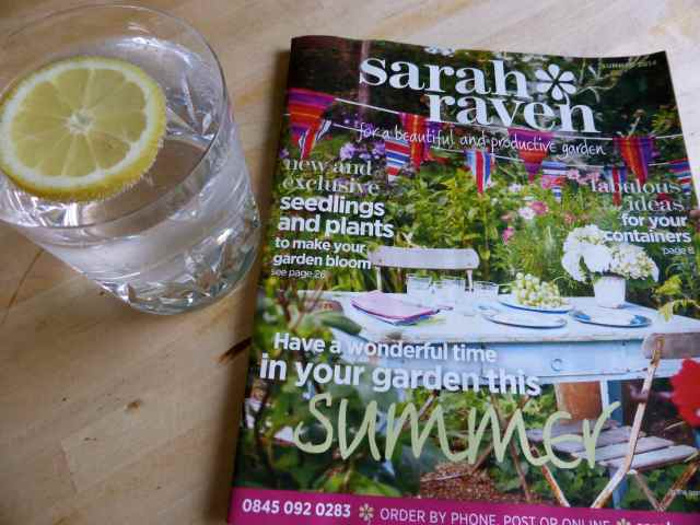 Sarah Raven and G&T