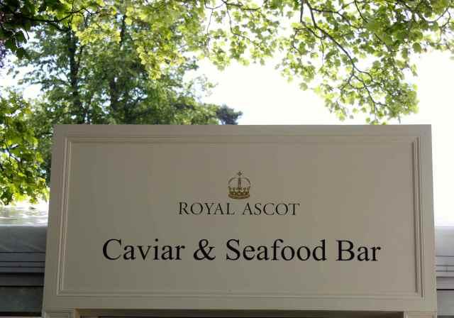 Caviar and Seafood bar