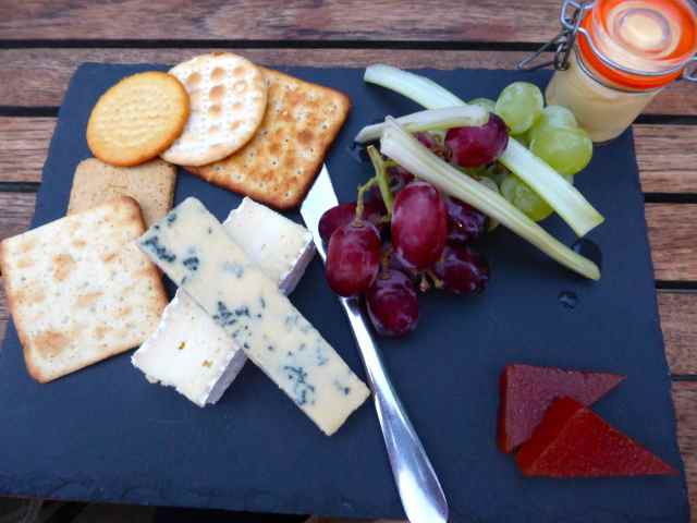 Cheeseboard at Great House