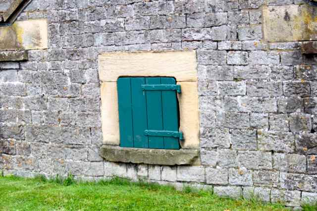 door in wall