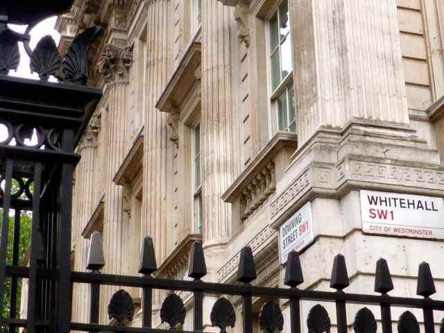 Downing St and Whitehall