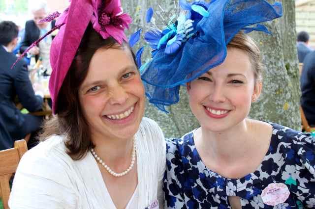Helen and Becky
