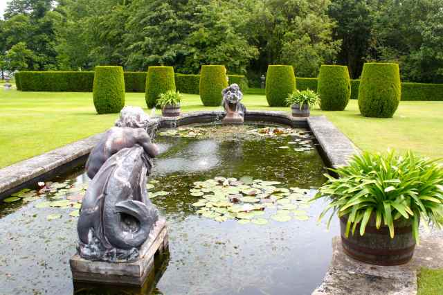 Hole Park pond
